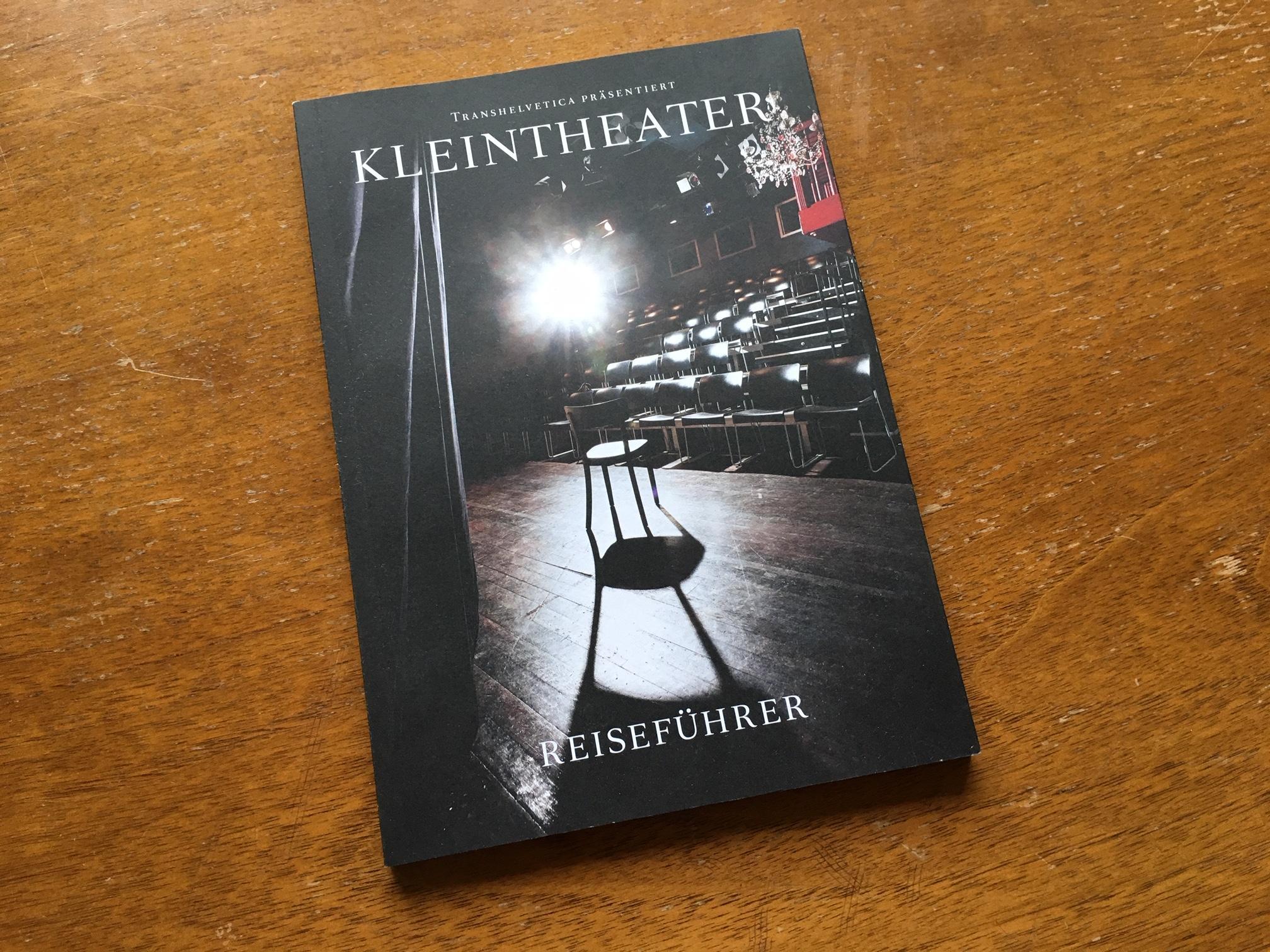 Kostenlos den Kleintheater-Reiseführer bei t. bestellen